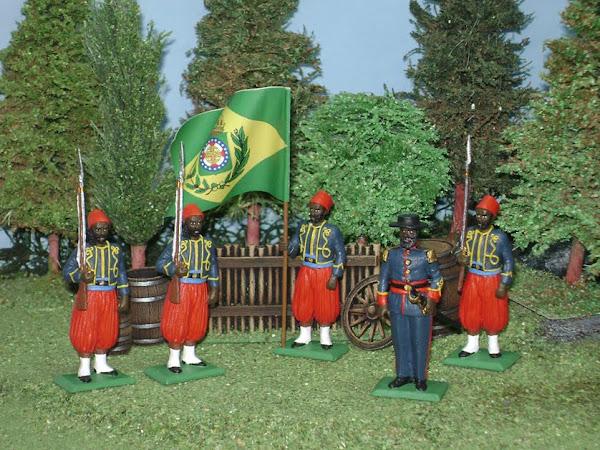 Guerra de la Triple Alianza Zuavos de Bahia