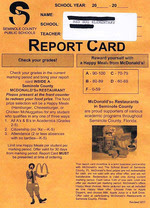 Questionable report card