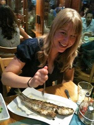 Meghan attacks her dinner