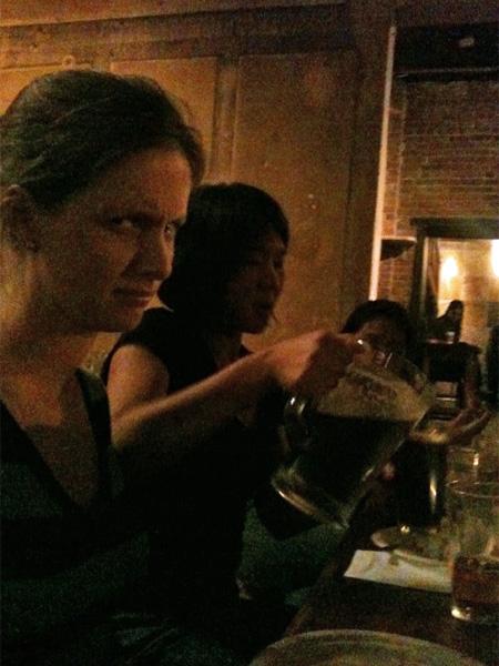Sam, Susan and Jennet at BAR