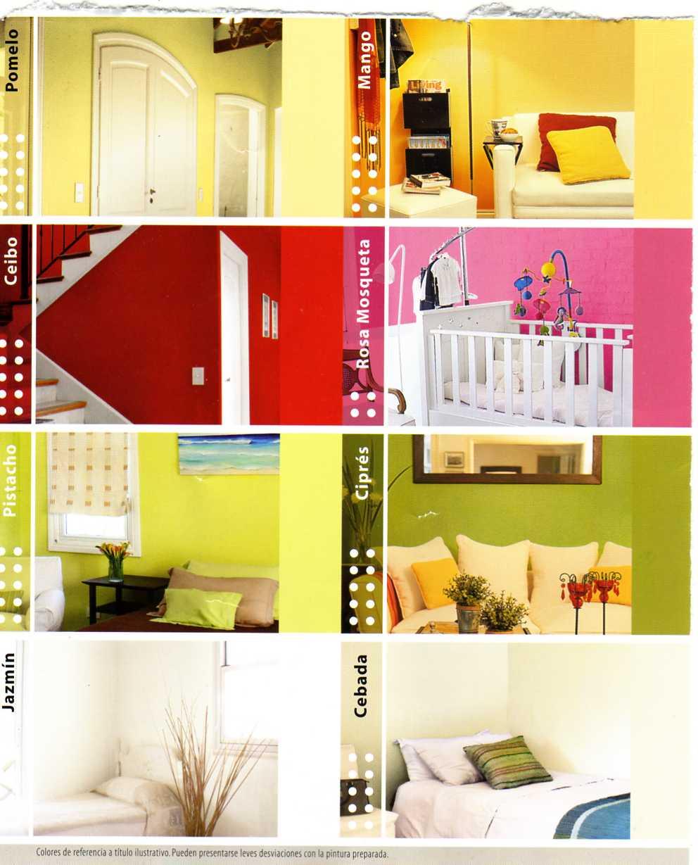 Gustavo pinturas consejos de colores para ambientes - Color de pinturas para interiores ...