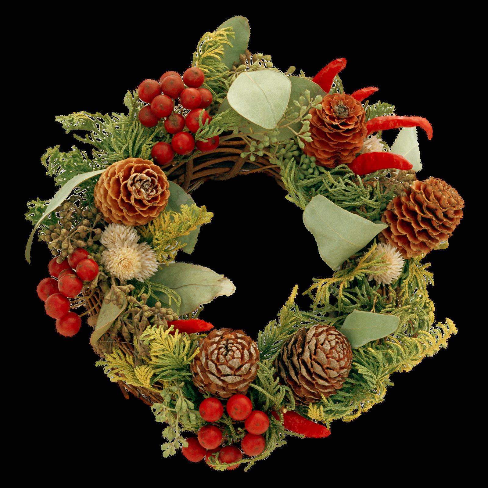 De Pantalla y Mucho M s Gifs de Coronas de Navidad PNG