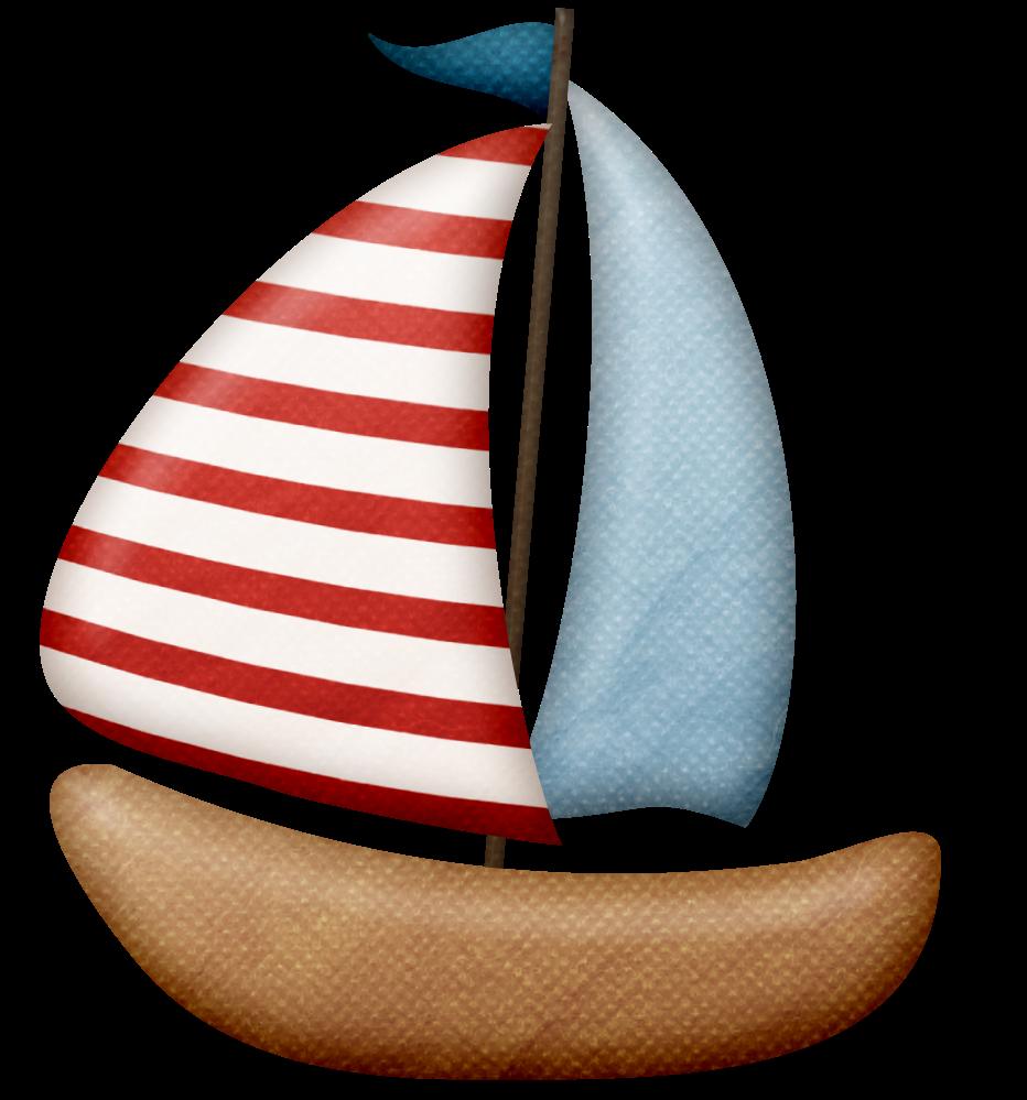 Recursos infantiles: Sombrilla y barcos PNG