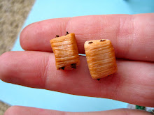 Chocolate Croissant Earrings