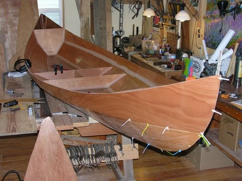 ROWING FOR PLEASURE: A Norwegian style boat from the US