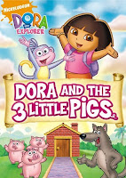 Dora The Explorer Dora And The 3 Little Pigs (2009)
