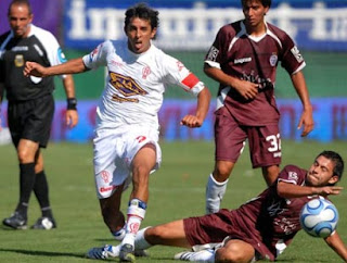 Hugo Barrientos en Huracán - Lanús
