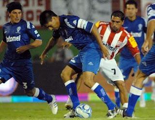 Paolo Goltz y Chiche Arano en Huracán - San Martín de Tucumán