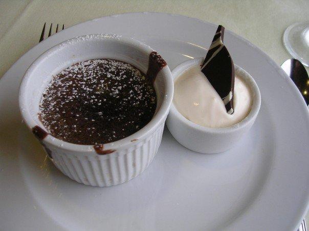 Chocolate Molten Cake Carnival Cruise