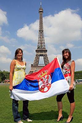 Ana Ivanovic Jelena Jankovic guapas tenistas serbias