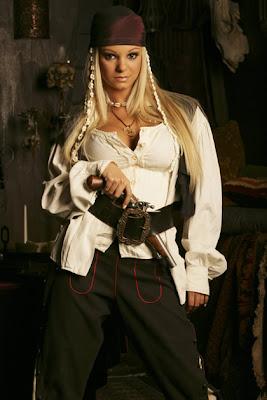 disfraz mujer pirata del Caribe