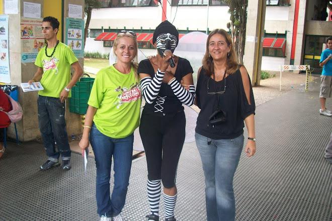 Ana Paula, Dengosa (Luna) e Cristina