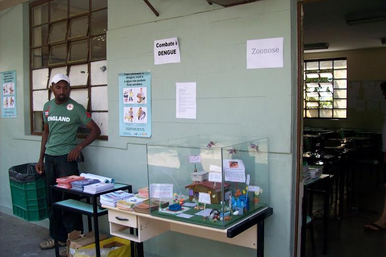 Maquete itinerante (Ação Integrada na Escola Municipal Santa Terezinha-abril 2009)