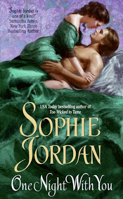 cover, ONE NIGHT WITH YOU by Sophie Jordan