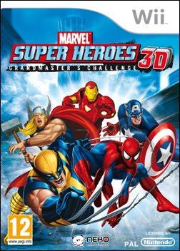 Marvel Super Heroes 3D: Grandmaster's Challenge