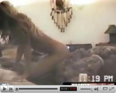 Pamela Anderson sucking cock