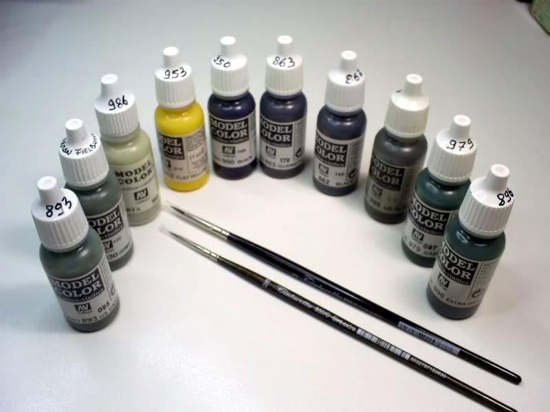 Miniature Pittura E MiniatureLa Con Custom Delle Acrilici Fotomago DHEYW29Ie