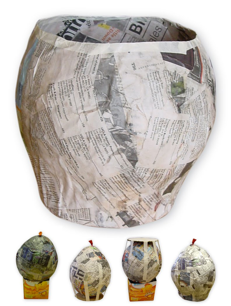 paper mache art project for kids ziggity zoom