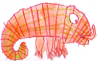 eric carle chameleon template - art projects for kids april 2010