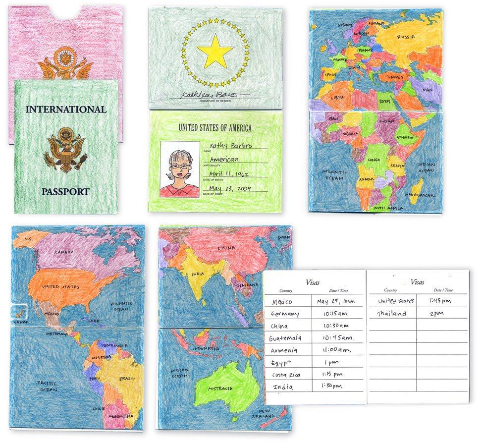 International Passport Template Art ProjectsArt Projects