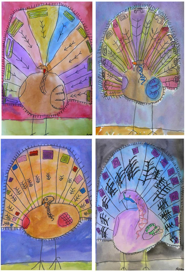 Art projects for kids november 2010 for Turkey crafts for first grade
