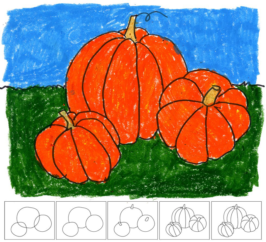 More fun for your little pumpkins meet penny for Funny pumpkin drawings