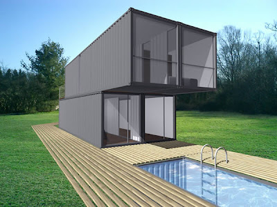 Tecnolog A Arquitectura Lot Ek Chk Container Home Kit