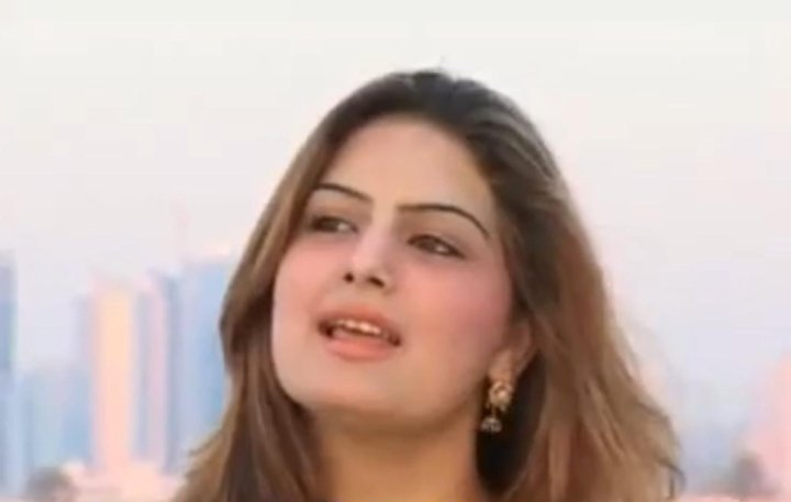 Ghazala Javed in Makeup Room Ready For Singing Competition. Looking