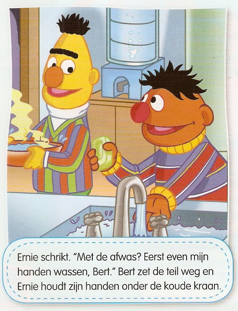 Bert & Ernie - Hoor Wie Klopt Daar Kinderen