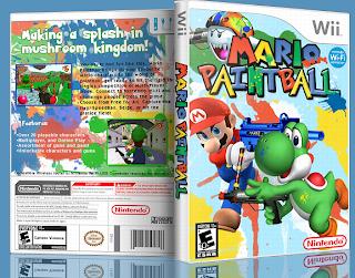Mario Paintball Boxart Sports