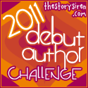 Debut Author Reading Challenge 2011