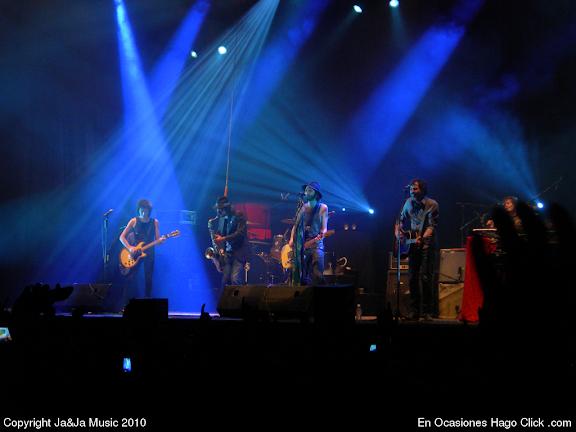 concierto pereza fin gira aviones palacio deportes 2010