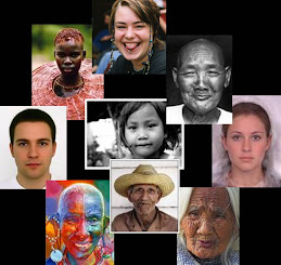 Faces of the world . . .