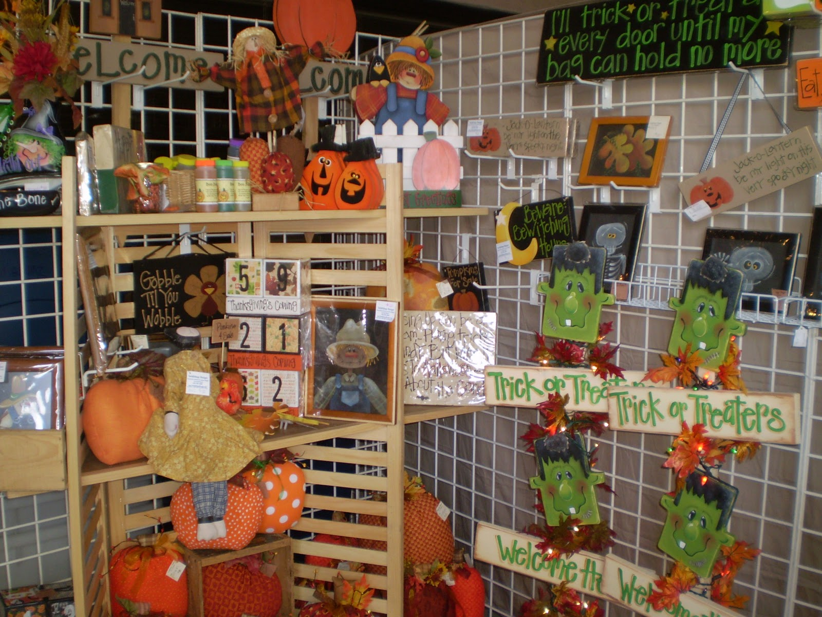 Fall craft show display craft show ideas pinterest for Craft ideas for craft fairs