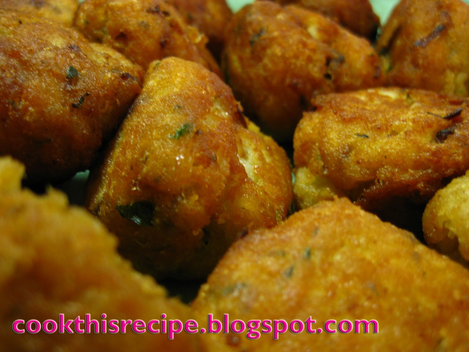 Cook this recipe recipe homemade fried fish balls for Homemade fish fry