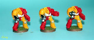 3 exterminadores de los Howling Griffons