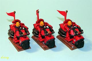 Motocicleta de los marines espaciales