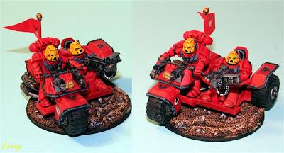 Motocicleta de ataque de los Marines Espaciales