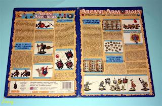 libreto de arcane armorials
