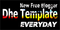 New Free Blogger Template Everyday