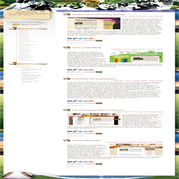 free blogger template convert WordPress to Blogger sport style WakaWaka Time for Africa template