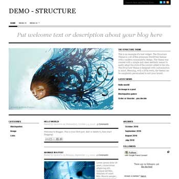 Structure blogger template convert from wordpress theme to blogger with magazine style blogger template