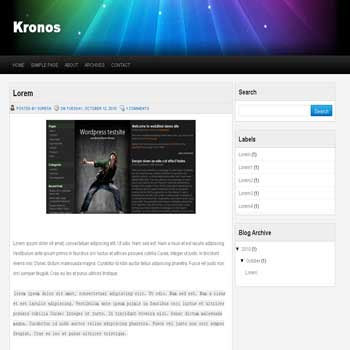 Kronos blogger template convert wordpress theme to blogger template with 4 column footer template blog
