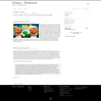 Platform blogger template. convert wordpress theme to blogger template. clean blogger template. Platform blogspot template blog