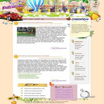 Relive Memorable Moments blogger template. template blog from wordpress