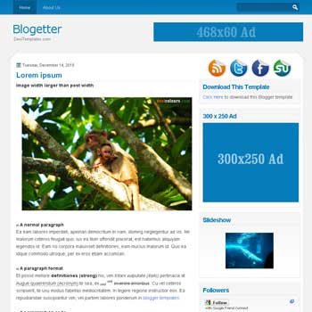 Blogetter blogger template.Blogetter blogspot template. 3 column blogger template. 3 column blogspot template
