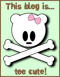"Wyróżnienie ""Blog is too cute"""