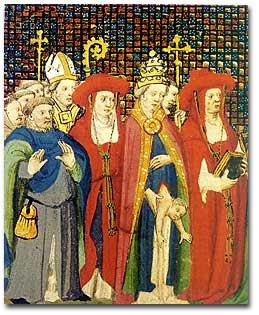 El Papa que fue Mujer Juana