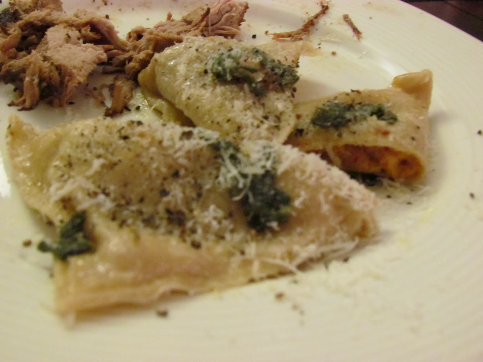 Butternut Squash Ravioli with a Sage Brown Butter Sauce | Cooking Real ...