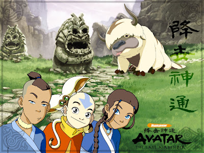 Avatar Last Airbender Map Of World The